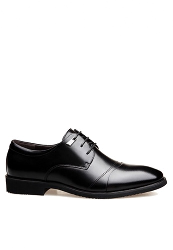 Twenty Eight Shoes black Simple Ring Tip Business Shoes  VSM-F3688 E7474SH82AFBAAGS_1