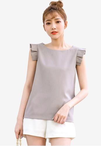 38482d88cc931 Buy Tokichoi Pleated Detail Sleeveless Blouse Online on ZALORA Singapore