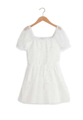 LC Waikiki white Tulle Dress 250CFKAC229BECGS_1