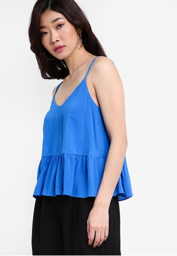 TOPSHOP blue Casual Camisole Top TO412AA43GEAMY_1