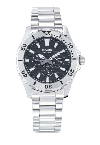 Casio silver Casio MTD-1086D-1AVDF Watch F3CEFACB4E13C8GS_1