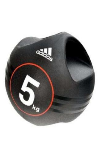 ADIDAS black ADIDAS 5KG DUAL GRIP MEDICINE BALL EF5B6SEC59821AGS_1