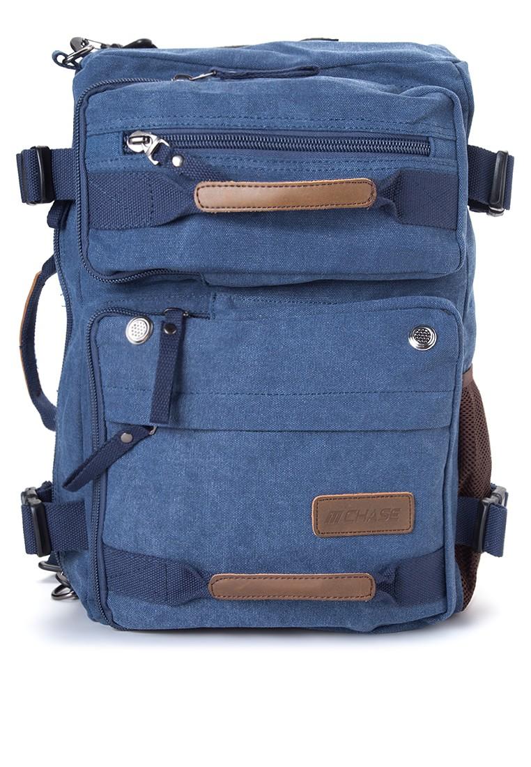 Raine 2-in-1 Canvas Duffel Laptop Bag