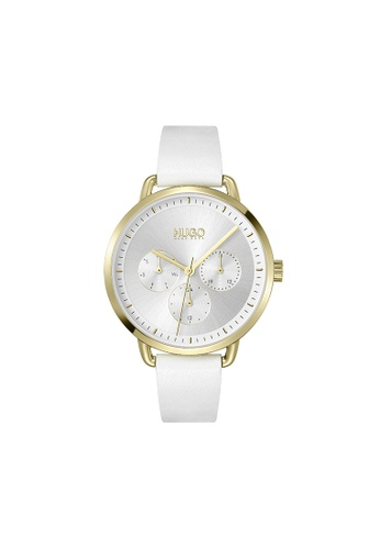 Hugo Boss silver HUGO Mellow Silver White Women's Watch (1540071) 0C48CACEC8337BGS_1
