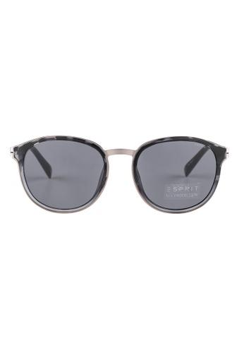 ESPRIT ESPRIT Vintage Round Black Sunglasses ET17914 ES374AC62GAJMY_1