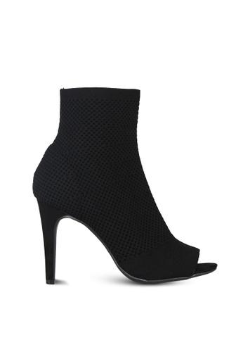 London Rag black Black Ankle Length Stiletto Heel Boots CBED7SH0F953BEGS_1