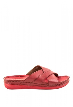 41c3d97d3 Otto red Crossover Sandals 73050SH21C4853GS 1
