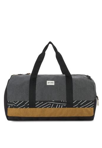 印花拼接旅行包, 包esprit 請人, 行李袋