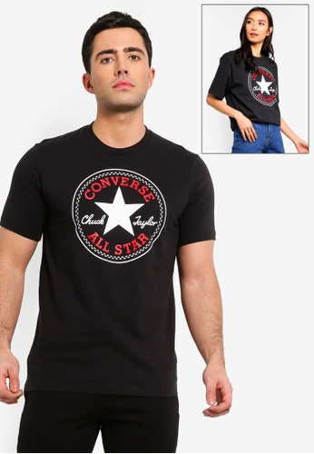 34489ddf30f Buy Converse Converse All Star Chuck Patch Tee Online on ZALORA ...