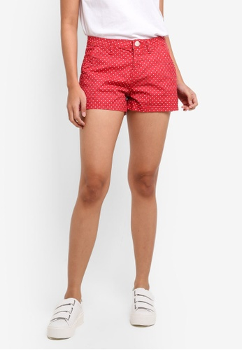 Cotton On red The Slant Pkt Chino Shorts D6DC2AAA834203GS_1