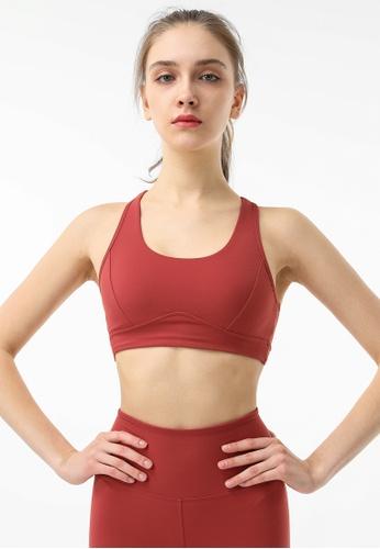 HAPPY FRIDAYS Women's Running Sports Bra DSG685 8E47FAAD0B3A0AGS_1
