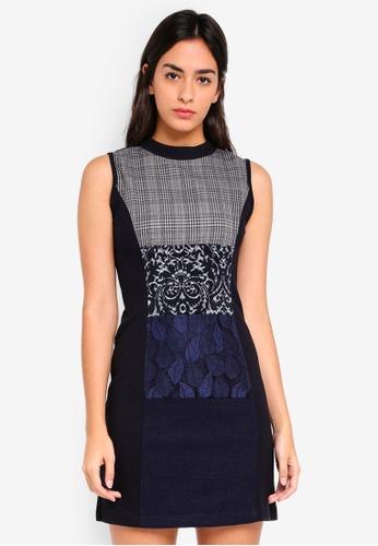 Desigual blue Fernie Dress 1AAD0AA0E87B29GS_1