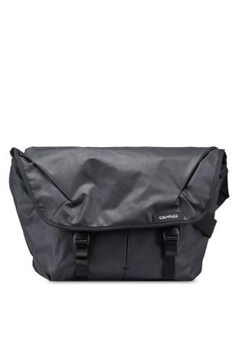 CRUMPLER black Zero Border Messenger Bag DDC91ACD09EF2CGS_1