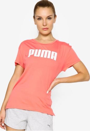 PUMA pink RTG Logo Women's Tee 36A03AA7373344GS_1