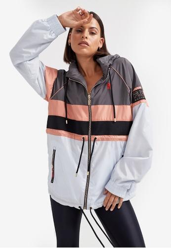 P.E Nation grey Speed Cut Jacket 96B4EAA1FFC671GS_1