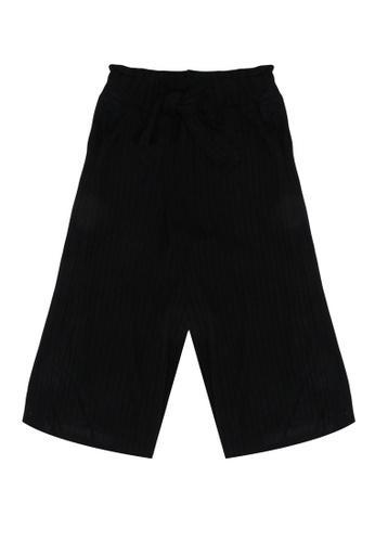 FOX Kids & Baby black Ribbed Trousers 03B42KAEA8D9CDGS_1