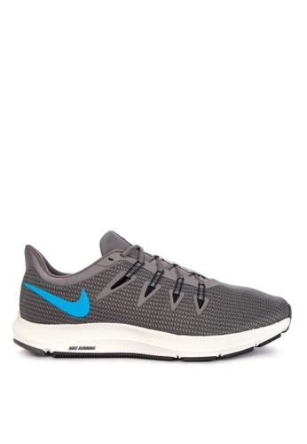 Nike grey Nike Quest Shoes 18064SH63391AFGS_1