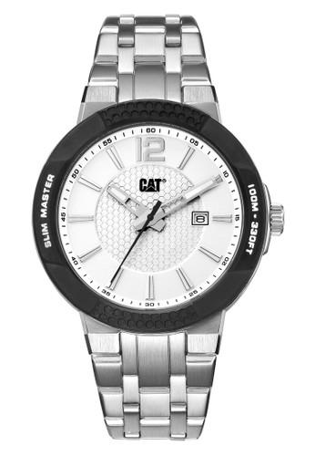 Caterpillar silver Casual Men's Watches CAT SH.141.11.232 9A3D9AC37383A7GS_1