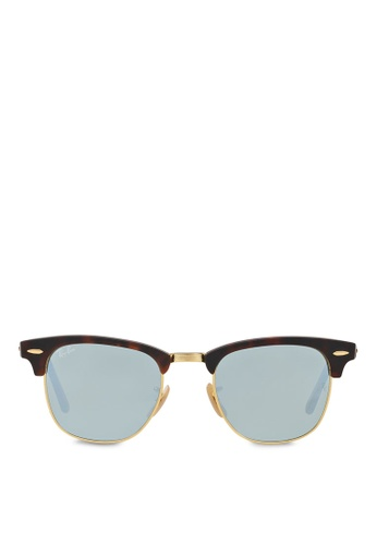 Ray-Ban Clubmaster RB3016 Sunglasses RA370GL63RZKSG_1