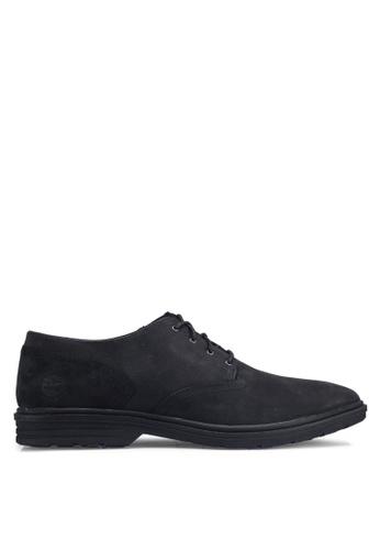 Timberland black Sawyer Lane Hoverlite Oxford Shoes 0044CSHF788A07GS_1