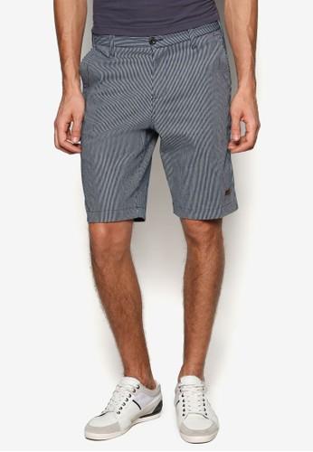 條紋esprit台灣官網短褲, 服飾, 短褲