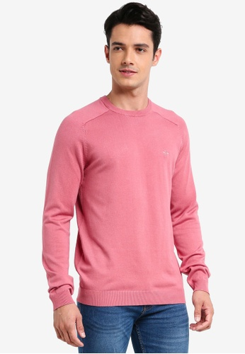 River Island pink Crew Neck Jumper 42CC9AA8049AC6GS_1