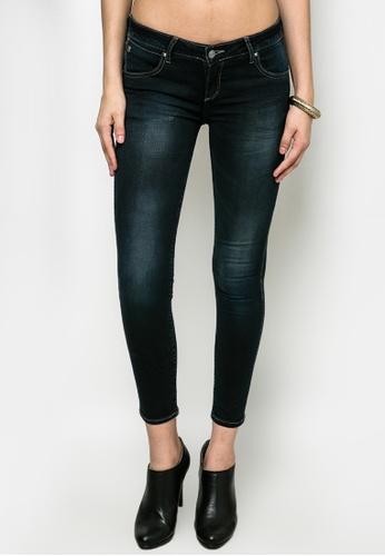 Wrangler blue Alec Dark Azul Skinny Jeans WR067AA53GSGPH_1