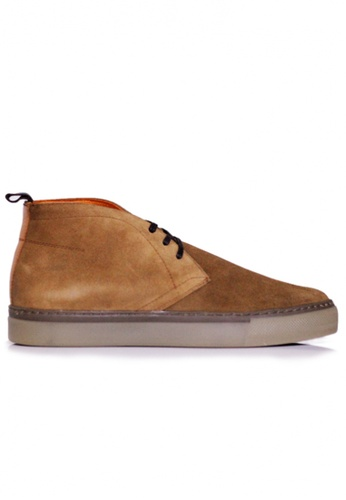 Gino Mariani brown Gino Mariani Men's Leather Shoes FRASIER - TAN 7D925SH2C177A8GS_1