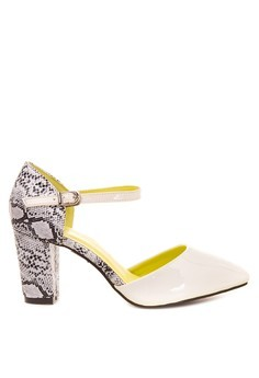 Pointed Toe Heeled Sandals