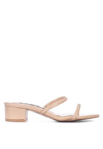 LND beige Jenny Block Heels Sandals 2401CSHE734B74GS_1