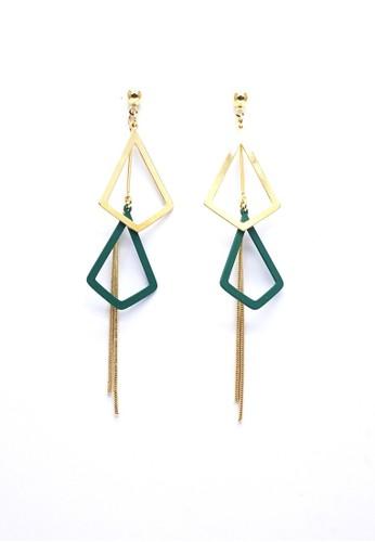 Istana Accessories green Anting Rinjani Fashion Earring 556B0AC798CA2AGS_1