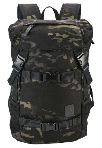 Nixon black Nixon - Small Landlock SE Backpack II - Black Multicam (C28193015) 868ABAC8E69F35GS_1