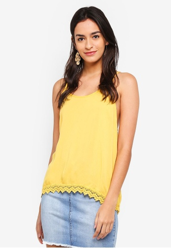 ONLY yellow Annie Strap Top CB214AA2CB6E13GS_1