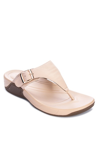 Alberto beige Comfort Flat Slides ED5C8SH96BFC65GS_1