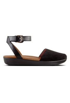 fc833525b88d Fitflop black Fitflop Cova Closed-Toe Sandals Suede (Black)  F99D8SH0F6F0E4GS 1