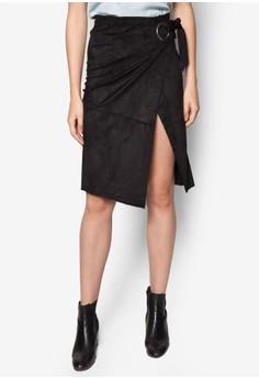 Buckle Wrap Skirt