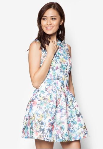 碎花洋裝,esprit 香港 outlet 服飾, 洋裝
