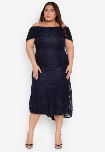 f6d73f7b089 Shop Ashley Collection Plus Plus Size Maxi Dress Online on ZALORA ...