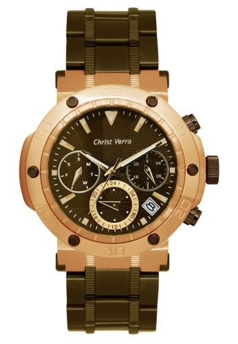 Christ Verra brown Christ Verra Women's Watches CV 52283L-17 BRN 3D744ACF0927B2GS_1