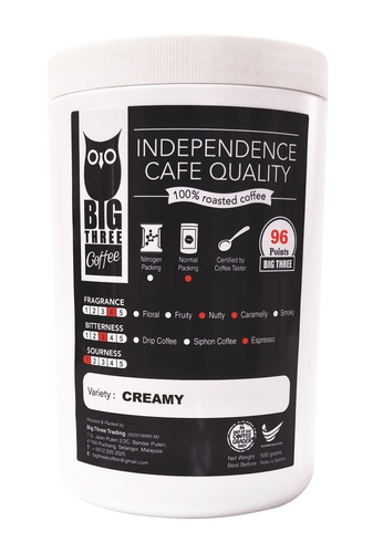 Big Three Coffee Creamy, Ground Coffee (Brand of Big Three Coffee) 500g 439BBESE23B435GS_1