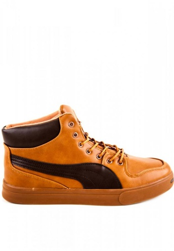 Otto brown High Cut Shoes E3ECFSHD3BC7E9GS_1