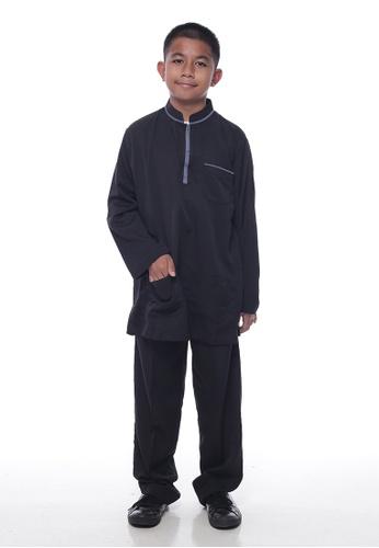 Denai Boutique black Baju Melayu Sayyed 3CECAKAA7CB819GS_1
