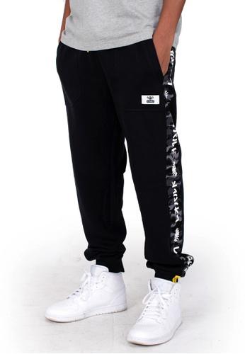 Reoparudo black RPD City Camo Contrast Sweat Pants (Black) C3AC9AAA637B15GS_1