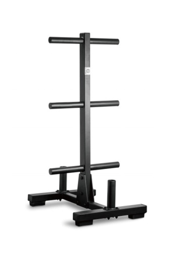 LIVE UP AND LIVE PRO. Standard Weight Plate Tree & Bar Rack 44D85SED729EE9GS_1