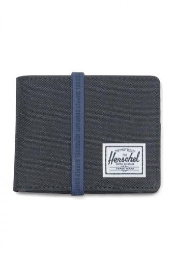 Herschel black Roy Coin RFID Wallet 55790AC9BD67E1GS_1
