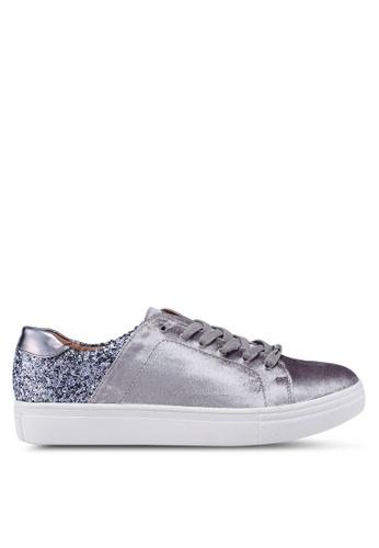 ONLY 灰色 閃亮運動鞋 44D58SHF585739GS_1