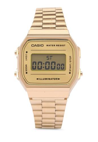 Casio gold Casio Watch A168WEGM-9DF BFC19ACD45616EGS_1