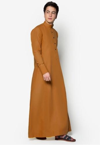 Amar Amran orange Jubah A Slim Fit AM362AA21WYOMY_1