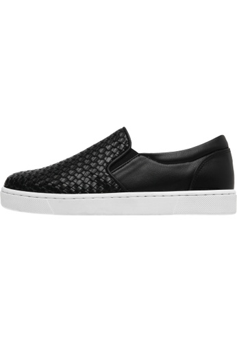 paperplanes Paperplanes-1371 Woven Tall Up Casual Slip-Ons Shoes US Women Size PA110SH48AVRHK_1