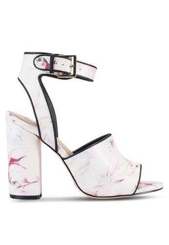 Miss Selfridge multi Clam Floral Heel Sandals MI665SH20QLJMY_1